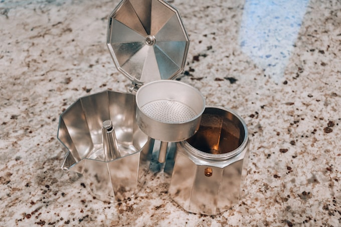 Moka Pot Pieces