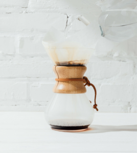 how to clean chemex