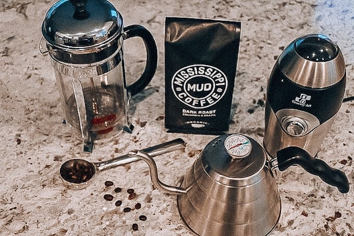 To make change in french press coffee for one