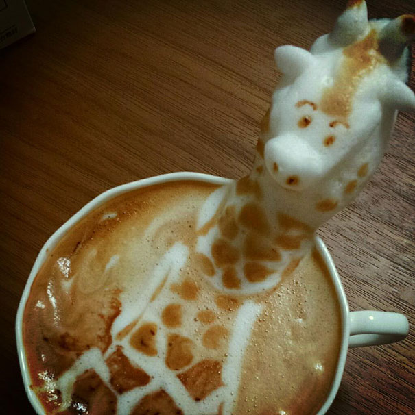 latte art kazuki yamamoto
