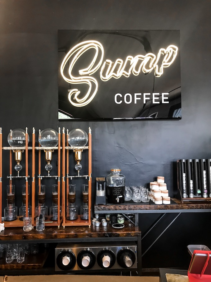 Sump Coffee Sign