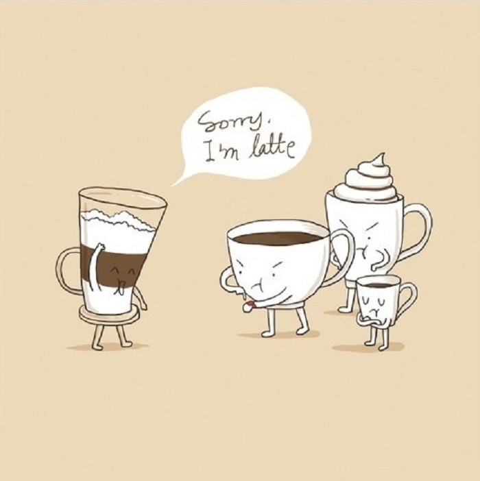 Coffee Puns on Emotions and Expressions