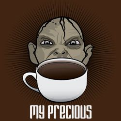 my precious coffee meme