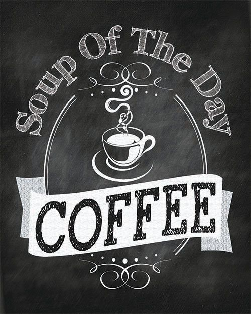 soup of the day coffee