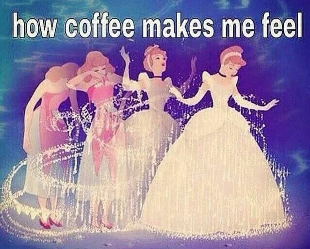 how coffee makes me feel meme