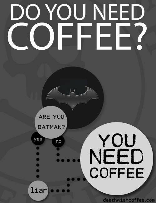 do you need coffee