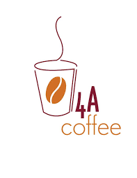 4a coffee logo