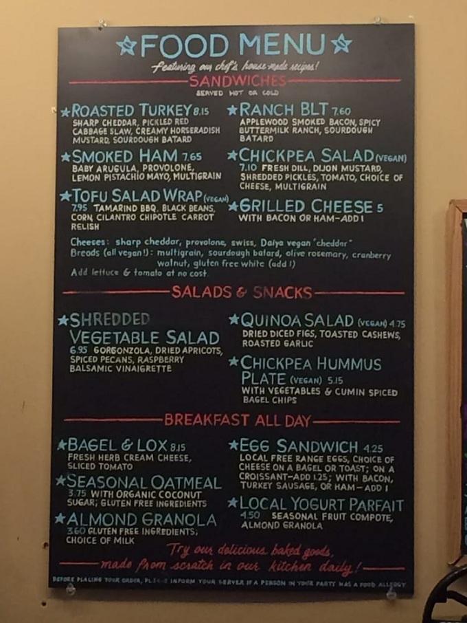 blue state food menu