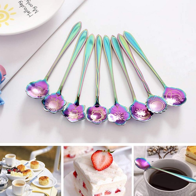 flower spoon set