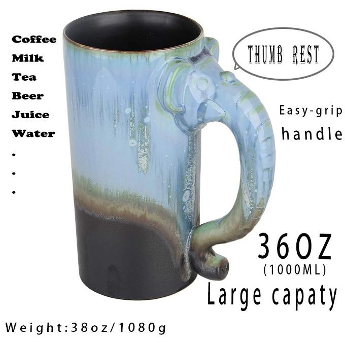 handmade pottery giant mug2