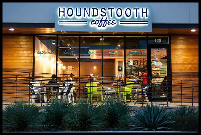 houndstooth coffee shop