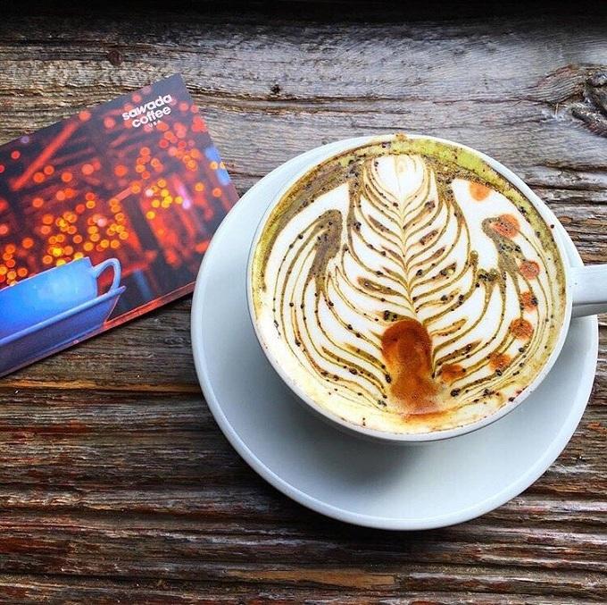 sawada military latte
