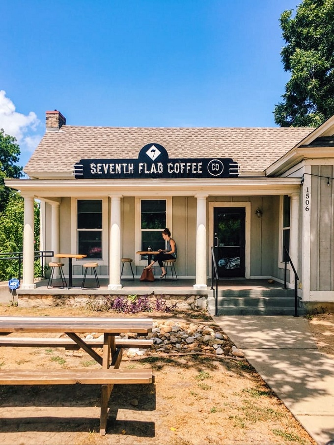 seventh flag coffee shop